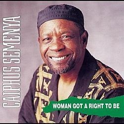 CD CAIPHUS SEMENYA - WOMAN GOT A RIGHT TO BE (USADO/OTIMO)